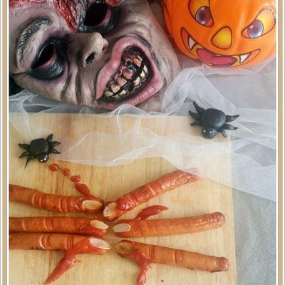 Doigts de sorcière ... pour Halloween