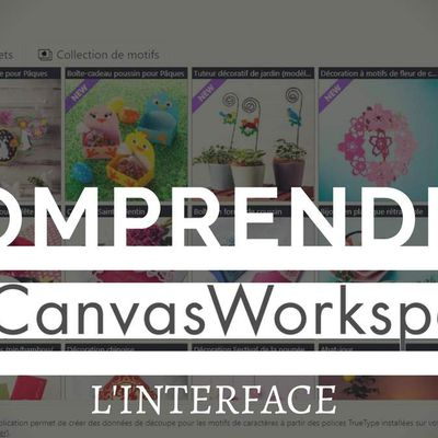 {Scan N Cut} Canvas Workspace, l'interface...