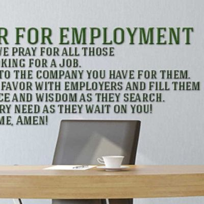 Miracle Prayer Tablet 1 (Prayer For Employment..