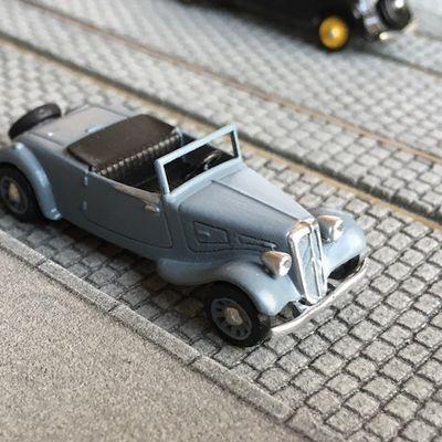 Citroën Traction Cabriolet 1934 - Impression 3D - Ho 1:87