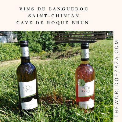 Deux excellents vins du Languedoc pour accompagner agréablement les repas de ces prochains beaux jours