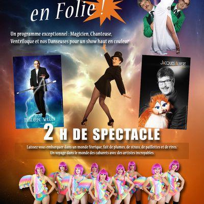 """Soirée """"Cabaret en folie"""" avec End & friends, le 2 mars 2019 à Château-Salins (57)"""
