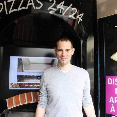Pizzas fraîches à toute heure, avenue Jean Jaurès