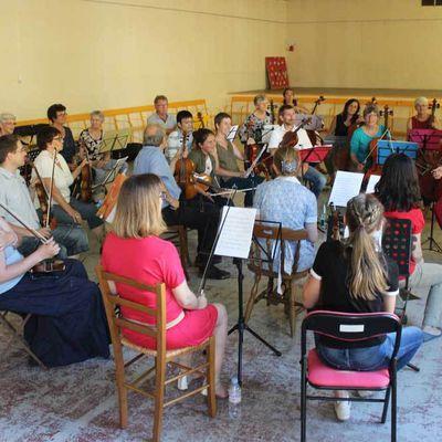 L'Orchestre Symphonique de Bercé en concert