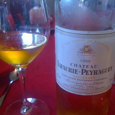 Sauternes, 1er Cru Classé, Lafaurie-Peyraguey 1999