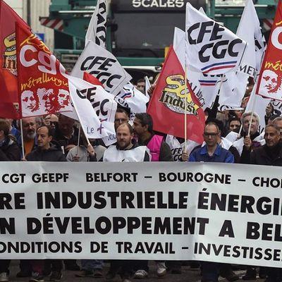 Appel du parti communiste et enjeux de la lutte engagée à GE Belfort