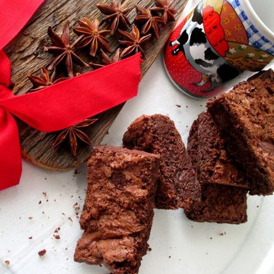 Brownies dal cuore morbido....