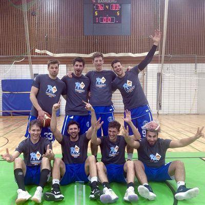 Veitshöchheimer Basketballer schaffen den Durchmarsch in die zweite Regionalliga