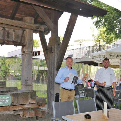Am 1. Juni eröffnet das Restaurant KASKADE in den Mainfrankensälen mit Außenterrasse - Separater Biergarten auf der Wiese