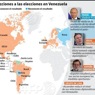 El grupo de países que desconoce el resultado electoral de Venezuela, al margen del G20.