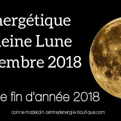 Soin énergétique Pleine Lune 22 Décembre 2018 Nettoyage de fin d'année