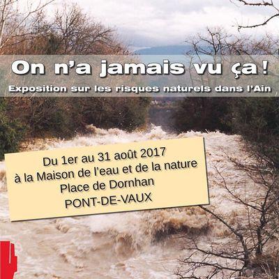 Une exposition à voir à la Maison de l'eau et de la nature.