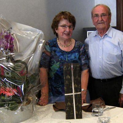 Les retraités de Gorrevod ont célébré les noces de platine de Paulette et Georges Chevauchet.