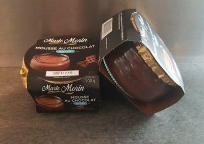 Quand la gourmandise m'envahit avec la mousse au chocolat Marie Morin !