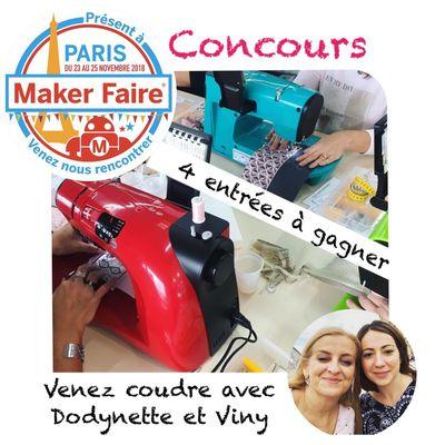 Maker Faire Paris - Atelier Couture - Concours