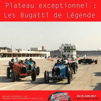 AHF : 50 ans du Club Bugatti France, un plateau exceptionnel