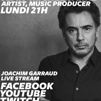 Jean-Michel Jarre l'interview par Joachim Garraud lundi 6 avril 2020