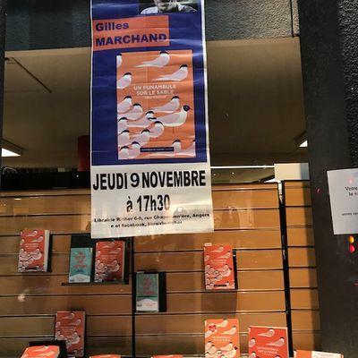 Rencontre-dédicace avec Gilles MARCHAND à Angers