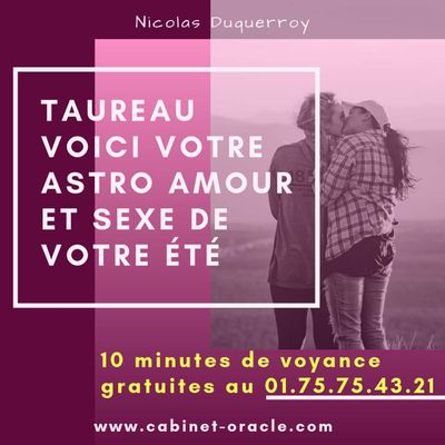 Voyance SMS discrète   Astro Taureau en Amour et Sexe