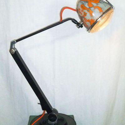 Lampe articulée Projecteur Citroën 2CV - 175 euros