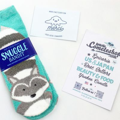 Les adorables chaussettes Bath & Body Works !