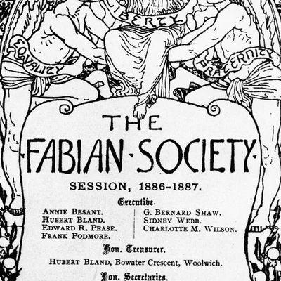 Voyage en Angleterre -8- La Fabian Society