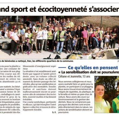 Var Matin du 14 octobre: Quand sport et écocitoyenneté s'associent