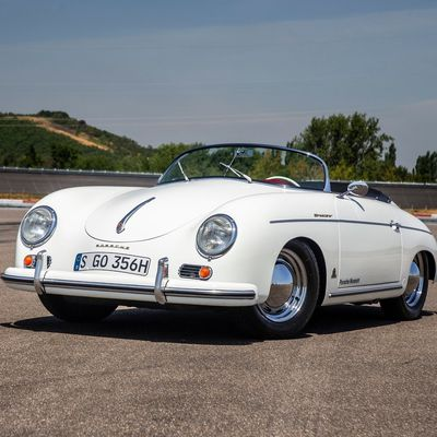 VOITURES DE LEGENDE (978) : PORSCHE 356 SPEESTER  1500 - 1955