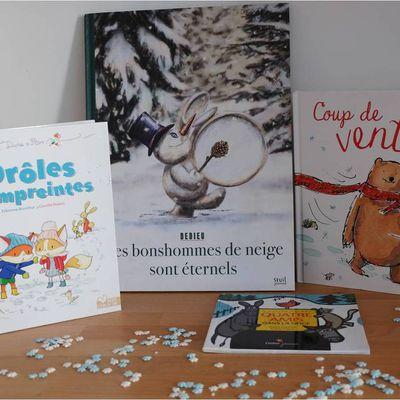 Des lectures à la neige ! ❄️