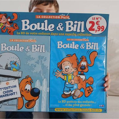 Collection de BD : Boule & Bill !