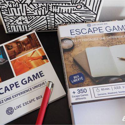 Live escape box, coffret cadeau d'escape game !