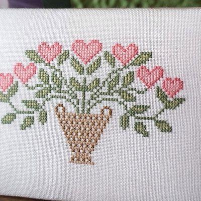Un petit bouquet de coeurs...