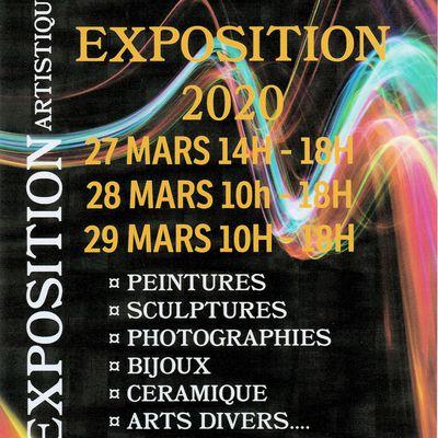 EXPOSITIONS A VENIR