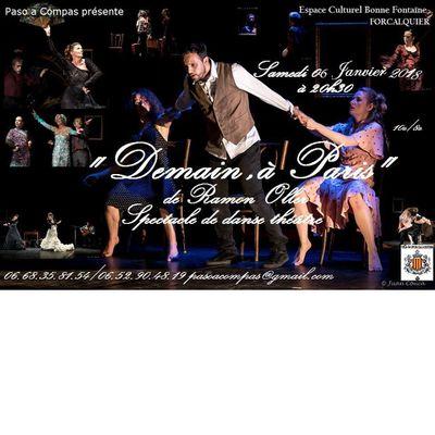 Spectacle danse théâtre 06 janvier Forcalquier