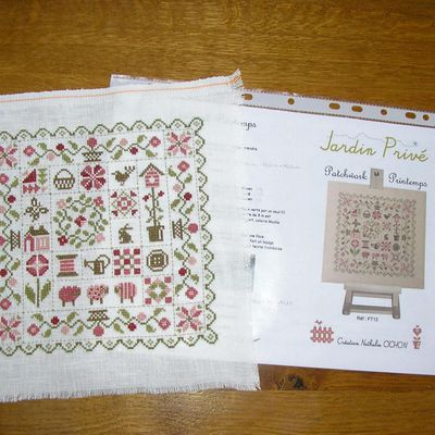 """Patchwork Printemps "" de ""Jardin Privé"""