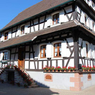Hunspach, plus beau village de France et Seebach