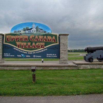 1157 . Upper Canada Village lieu historique .