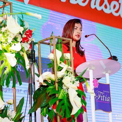 Mialy Rajoelina. Kabariny tamin'ny Orange Day, 25 Nov. 2019