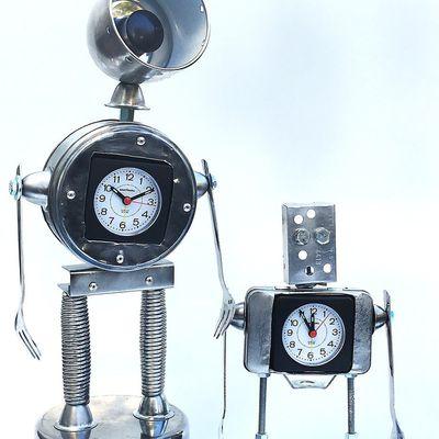 Création robot horloge N° 27