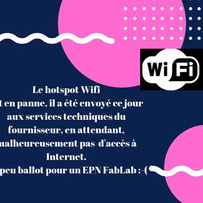 Attention, pas d'accès à Internet