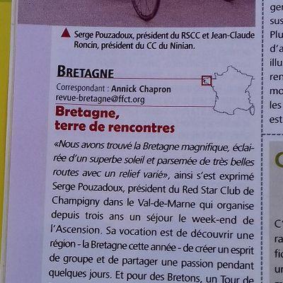 La revue Cyclotourisme
