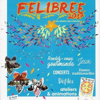 Fêtes et animations juillet 2017 autour de Neuvic et St Astier : Félibrée, concert, expo, ciné plein air...