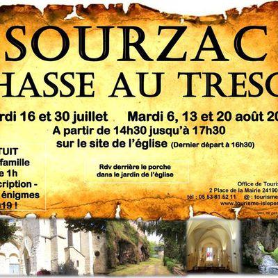 Le Retour de la Chasse au trésor à Sourzac pour l'été 2019 !