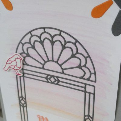 COLLECTION,VERRE ELEGANT,VITRAIL,STAMPIN'UP.