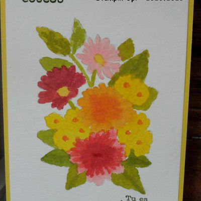"ORNATE STYLE,AQUARELLE,STAMPIN""UP!"