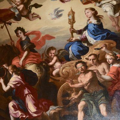 """JOURNÉES DU PATRIMOINE : CONFÉRENCE samedi 15 septembre 2018 à 14h à la cathédrale de Cavaillon : """"Louis PARROCEL (1634-1694), un peintre du XVII°s. en Provence"""""""