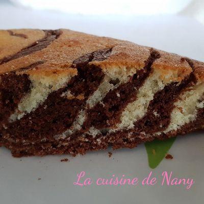 Gâteau Zebre