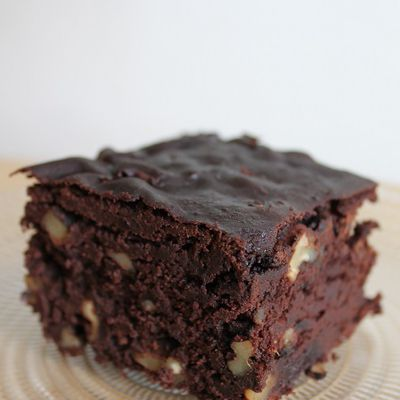 Brownie aux haricots rouges, sans farine ni beurre #86