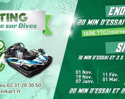 Championnats hivernals : Technikart et Ouest karting .