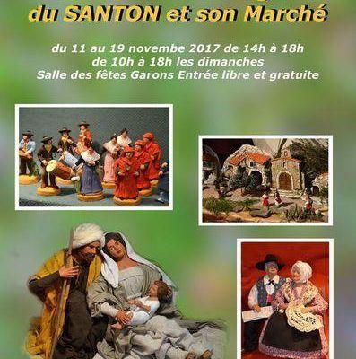 Les foires aux santons du week-end du 11 et 12 novembre 2017